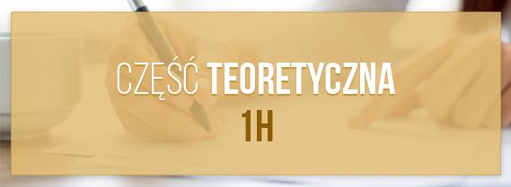 Szkolenie teoeretyczna trwa 1h